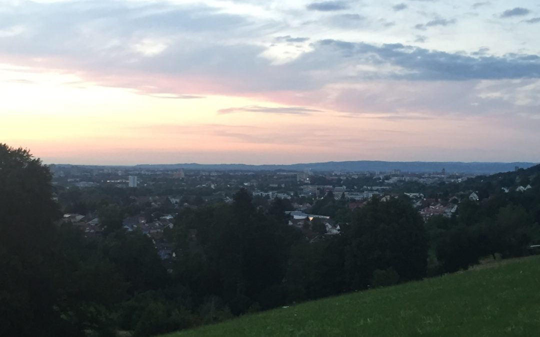 Our Evening Walks in Merzhausen